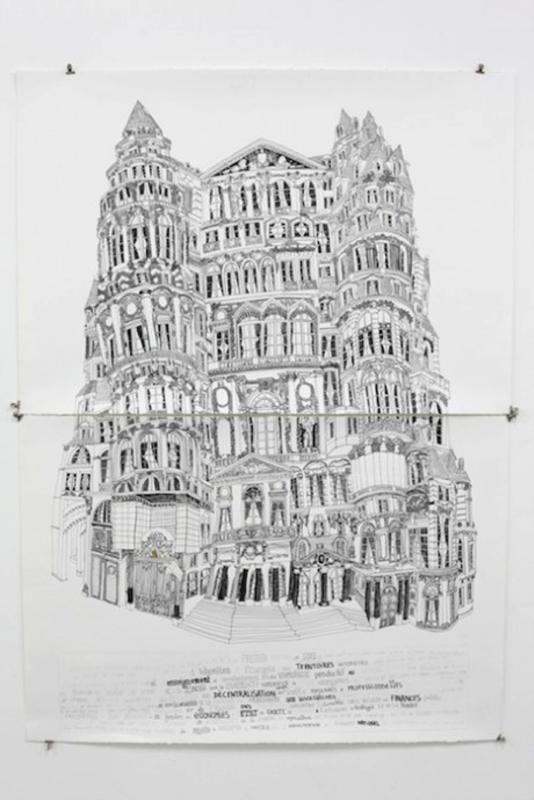 Le chateau ministere en espagne, 112x156