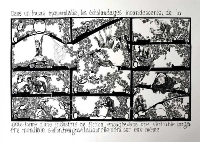 Monnaie de singe, 50x70